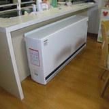 蓄熱暖房機取付